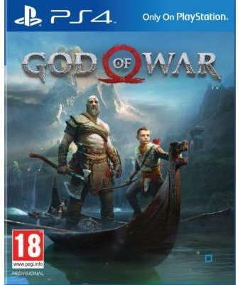 Jeu PS4 Sony God of War