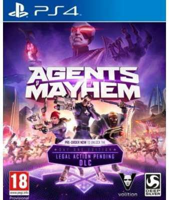 Jeu PS4 Koch Media Agents