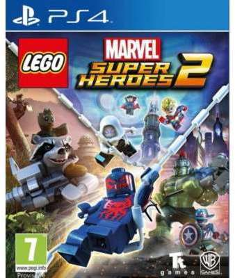 Jeu PS4 Warner Lego Marvel