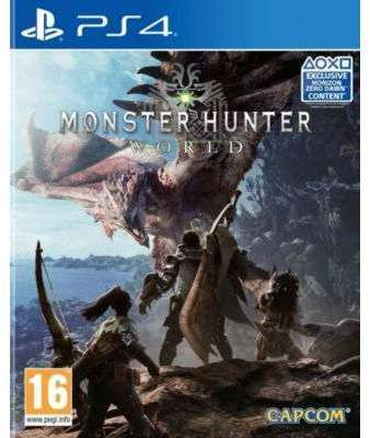 Jeu PS4 Capcom Monster Hunter