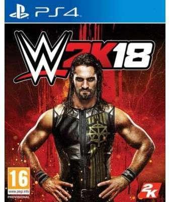 Jeu PS4 Take 2 WWE 2K18