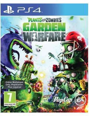 JEU PS4 PLANTS ZOMBIES GARDEN