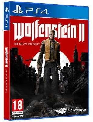 Jeu PS4 Bethesda Wolfenstein