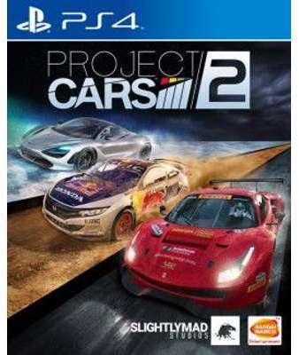 Jeu PS4 Namco Project Cars