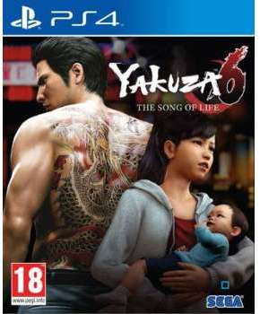 Jeu PS4 Koch Media Yakuza