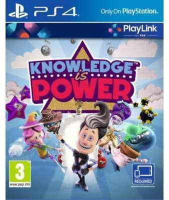 Jeu PS4 Sony Knowledge is
