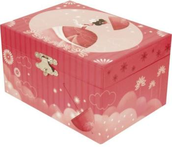 Coffre musical fille ombrelle