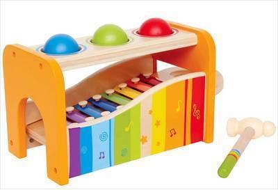 Boitier xylophone à marteler