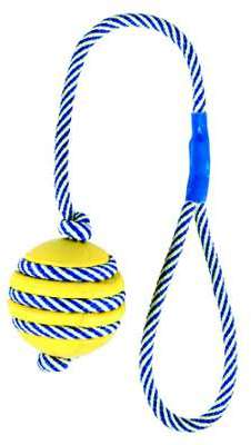 Balle sur une corde phosphorescente