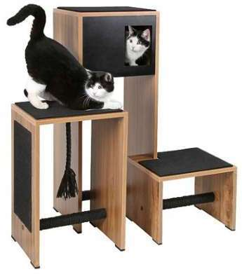 Arbre à chat Ambiente - Noir