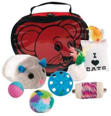 Set de jouets variés pour