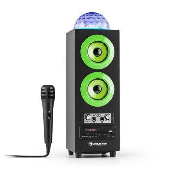 DiscoStar Green Enceinte portable