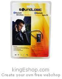 SOUNDLOGIC Oreillette Bluetooth
