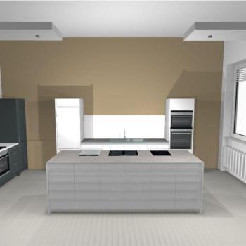 Block cuisine intégrée - façade