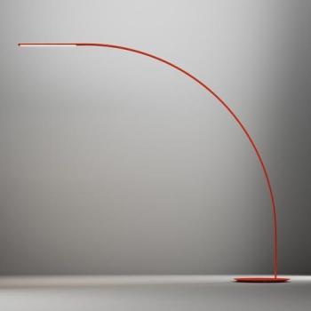 Yumi - Lampadaire LED - rouge