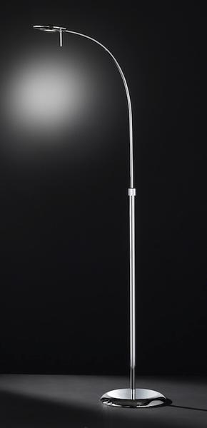 lucide lampadaire et liseuse flexible en m tal avec variateur dintensit hauteur 180 cm diego. Black Bedroom Furniture Sets. Home Design Ideas
