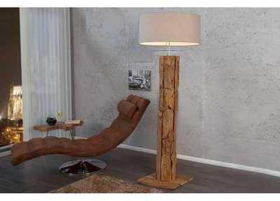 Lampadaire de 160cm en bois