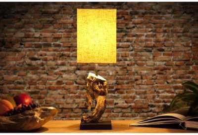 Lampe à poser 15cm en bois