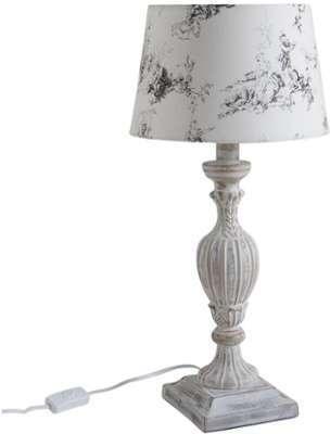 Lampe en bois Mélancolie