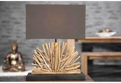 Lampe de 50cm en bois flotté