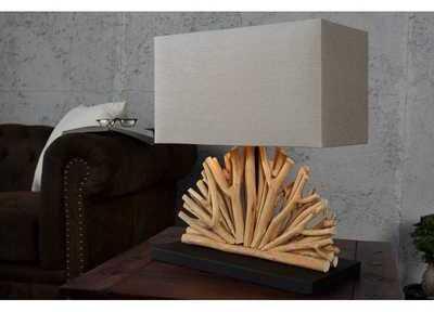Lampe de 40 cm en bois flotté