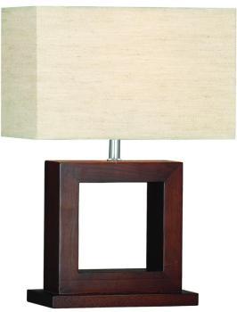 Lampe de table Window en bois