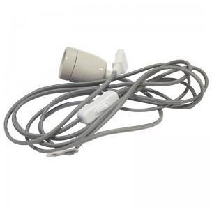 Cable avec douille E27 et