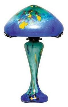 Lampe en pâte de verre Ocean