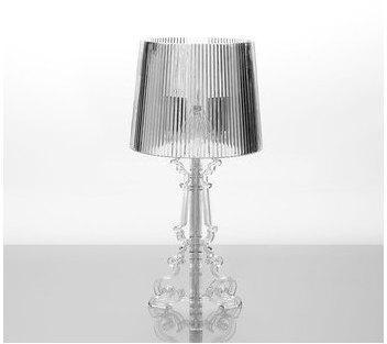 Lampe à poser design transparent