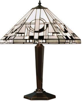 Lampe Metropolitan verre et