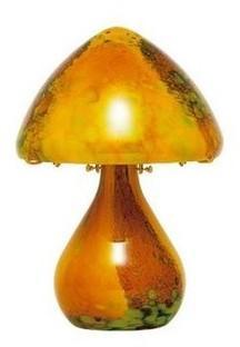 Lampe en pâte de verre Helios