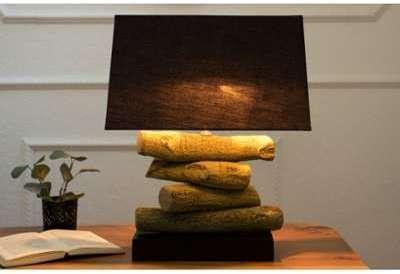 Lampe à poser design en béton