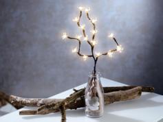 Branche à 16 LED alimentée