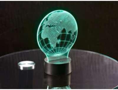 Motif 3D pour socle lumineux