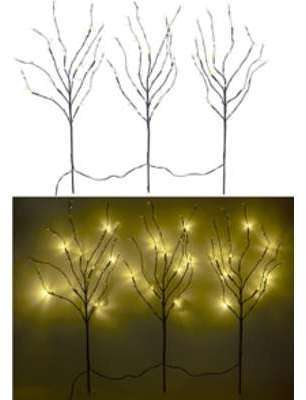 3 branches décoratives lumineuses