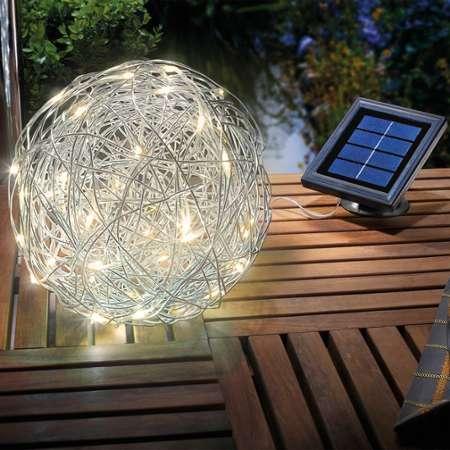 2 C Boule Solaire Extérieure Pièces Vidaxl 30cm T1JlF3Kc