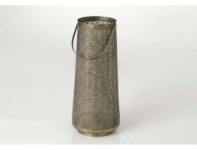 Lanterne style oriental métal
