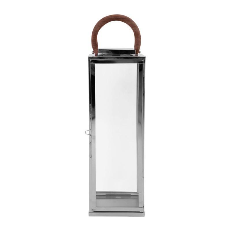 Lanterne ARGO argenté22x22x60