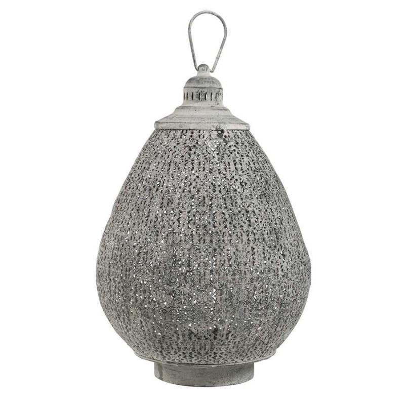 Lanterne orientale en métal
