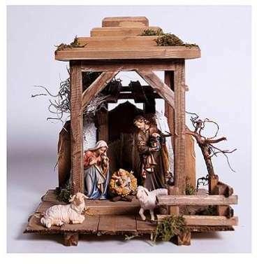 8 Pièces Nativité Stylisée La Santons Cm 12 Euromarchi lKTFuJ3c1
