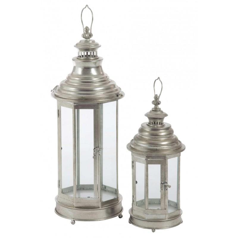 Set de 2 Lanternes Octogonale