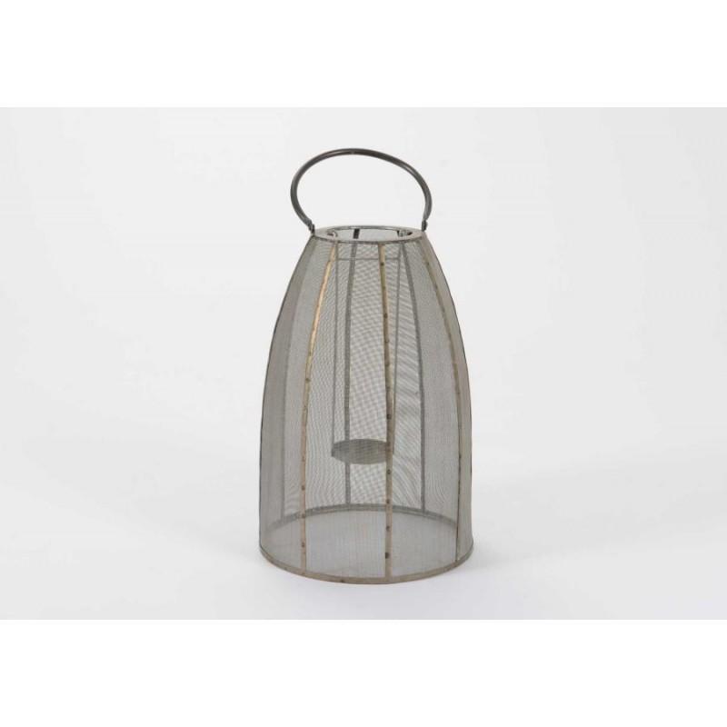 Lanterne Métal Gris Gm