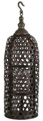 Grande lanterne exotique bambou