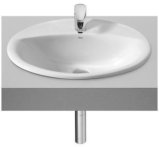 Aloa vasque à encastrer ovale