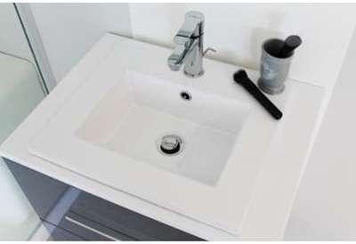 Plan vasque céramique à encastrer