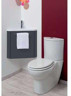 Meuble lave-mains à suspendre