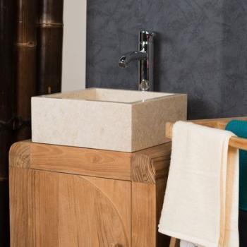 Vasque en marbre à poser MILAN