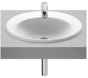 Java vasque à encastrer ovale