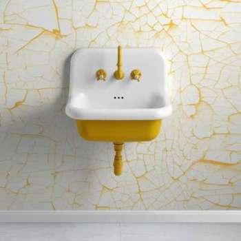 Vasque style école en céramique