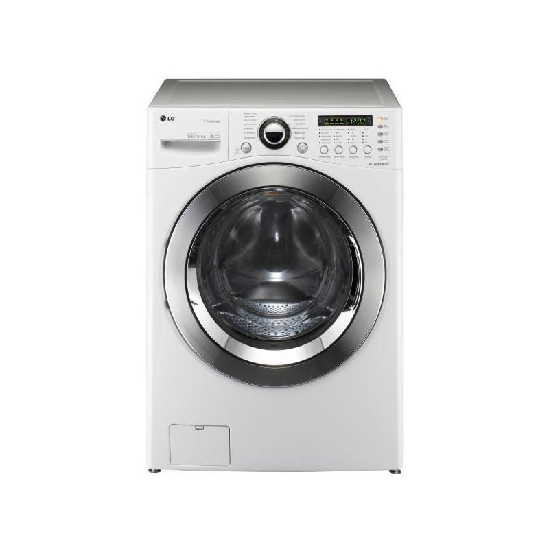 lg lave linge frontal 70cm 15kg a blanc 6 motion direct drive f52590wh. Black Bedroom Furniture Sets. Home Design Ideas